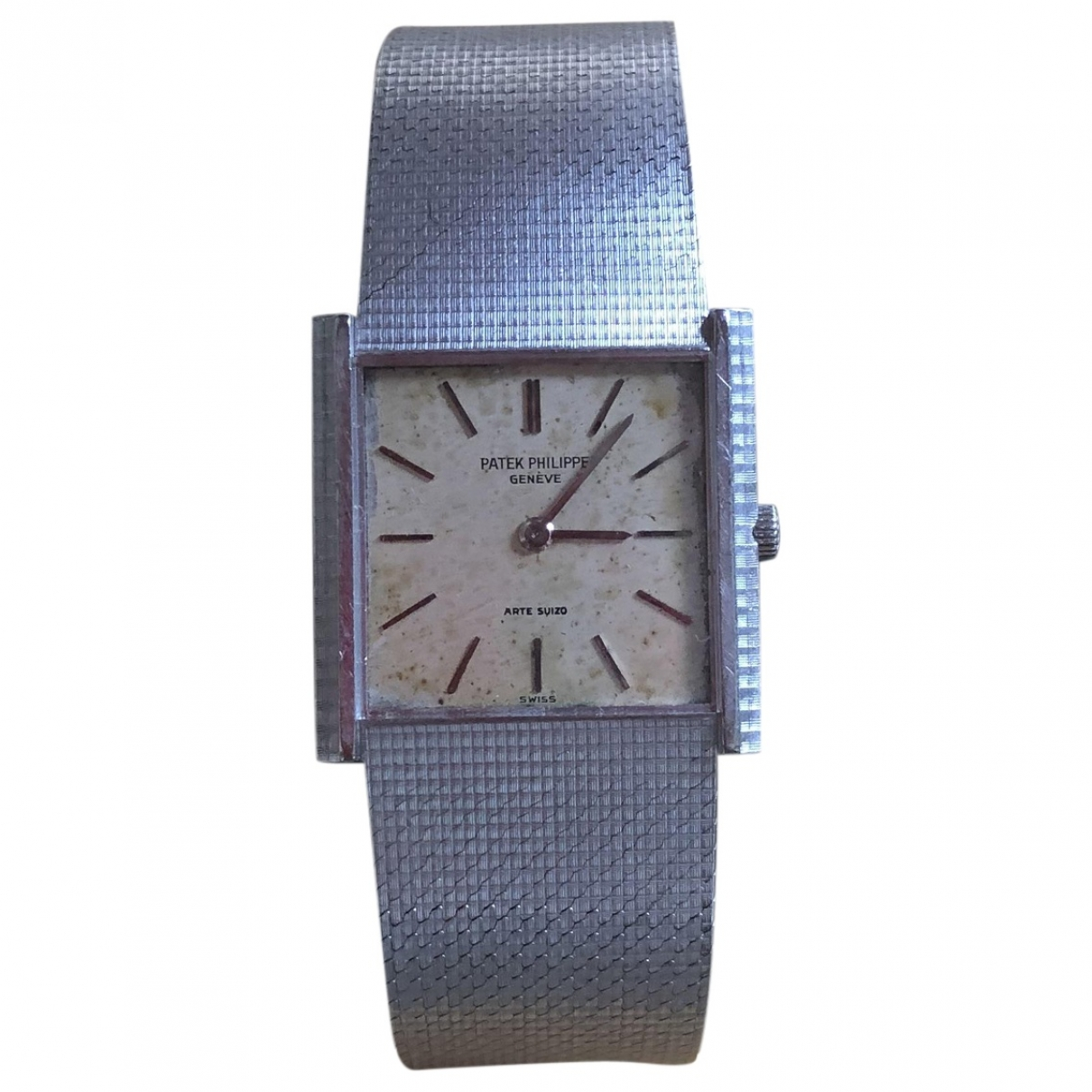 Patek Philippe \N Grey White gold watch for Men \N