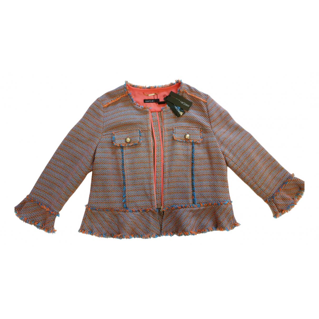 Marc Cain - Veste   pour femme en laine - orange
