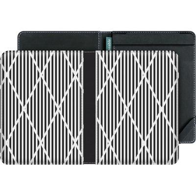 tolino vision 4 HD eBook Reader Huelle - Black Diamonds von caseable Designs