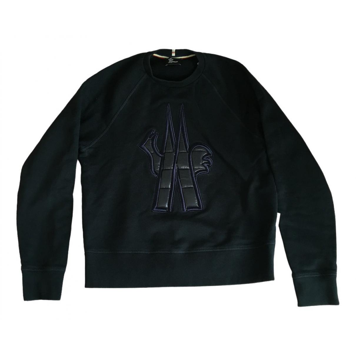 Moncler \N Pullover.Westen.Sweatshirts  in  Marine Baumwolle