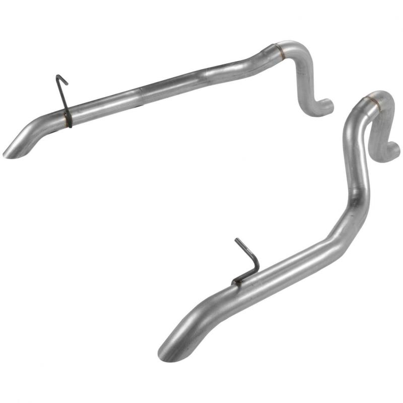 Flowmaster 15805 Prebent Tailpipes - 2.50 in. Rear Exit - Pair Ford 5.0L V8