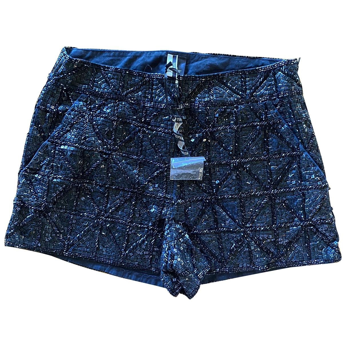 Tophop \N Shorts in  Schwarz Mit Pailletten
