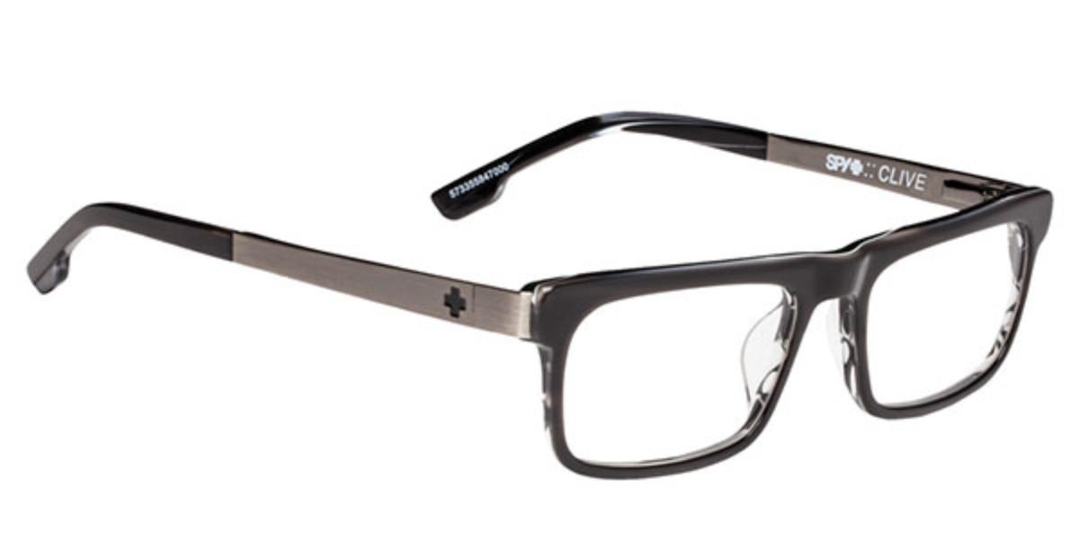 Spy CLIVE 573355847000 Men's Glasses  Size 53 - Free Lenses - HSA/FSA Insurance - Blue Light Block Available