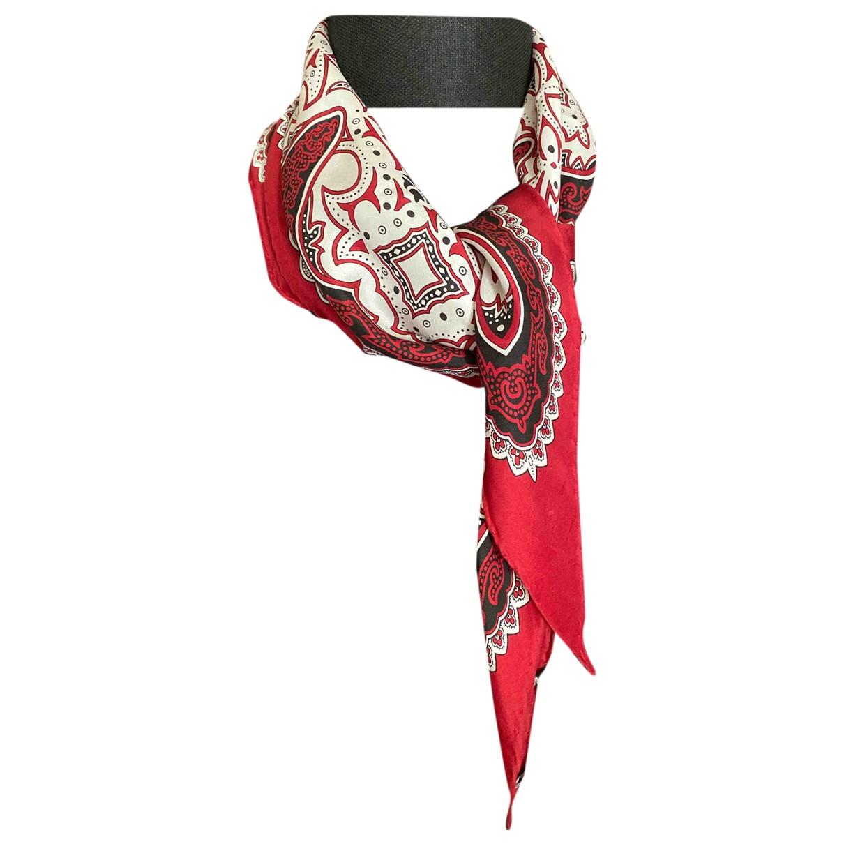 Gucci - Cheches.Echarpes   pour homme en soie - rouge