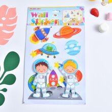 Kids Cartoon Graphic Wall Sticker
