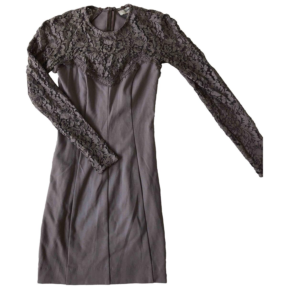Lover - Robe   pour femme - gris