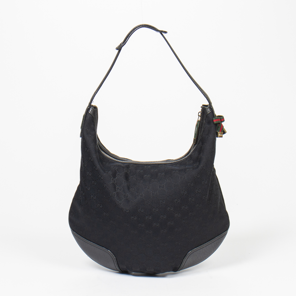 Gucci Hobo Black Cotton handbag for Women \N