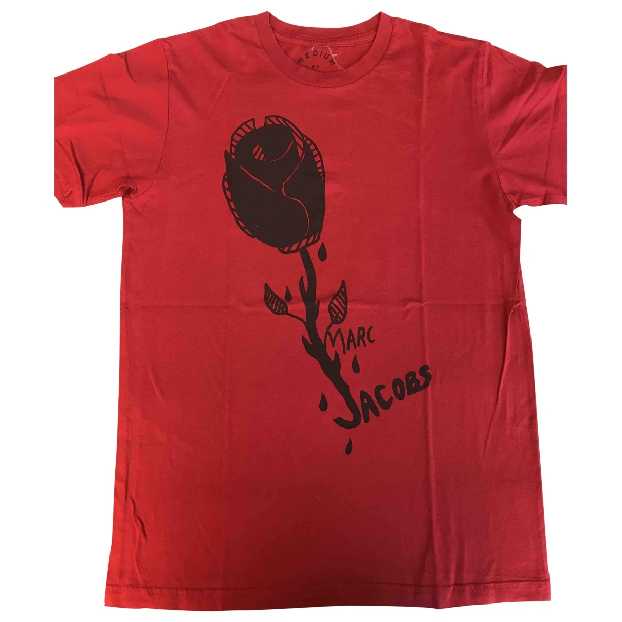 Marc Jacobs \N T-Shirts in  Rot Baumwolle