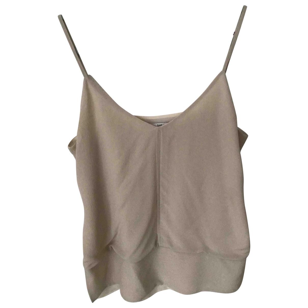 Day Birger & Mikkelsen \N Beige Silk  top for Women 36 FR