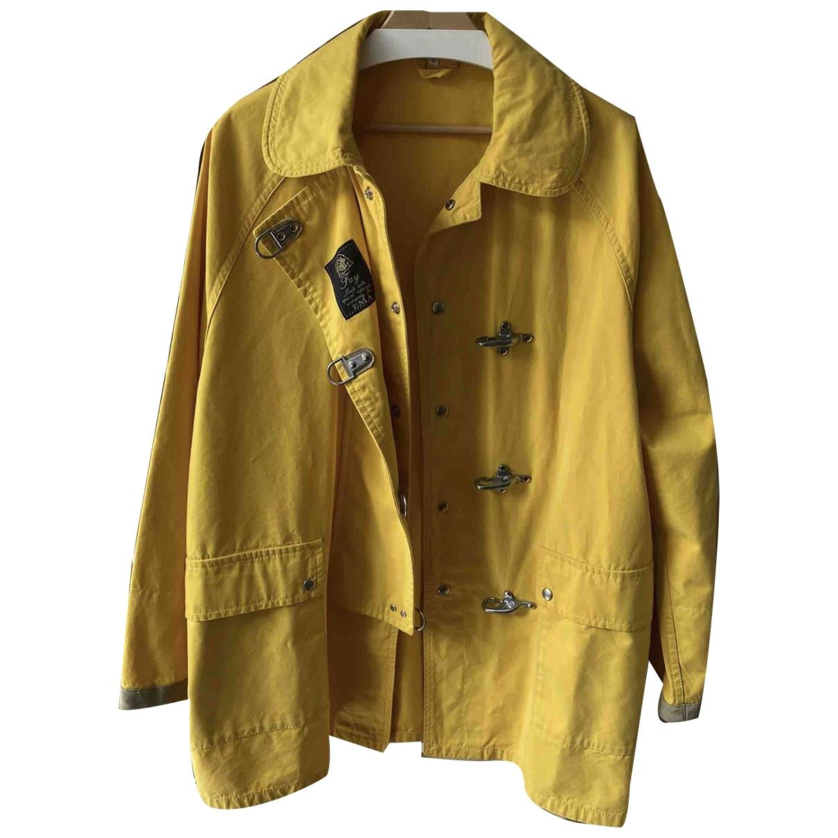 Fay - Vestes.Blousons   pour homme en coton - jaune