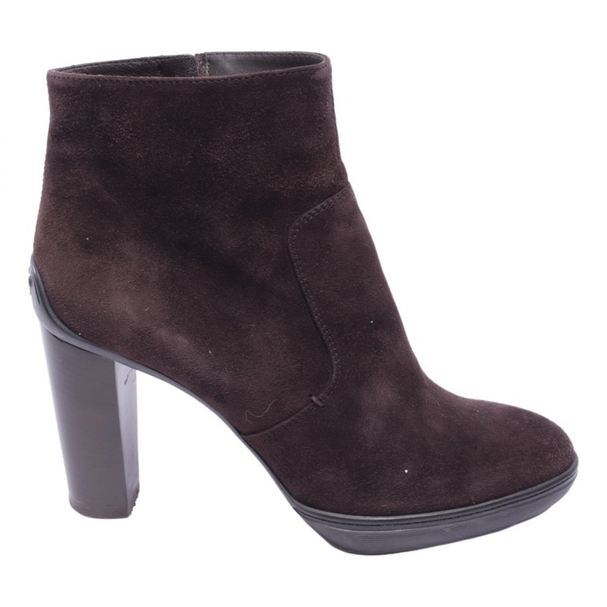 Tod's \N Brown Leather Ankle boots for Women 40 EU