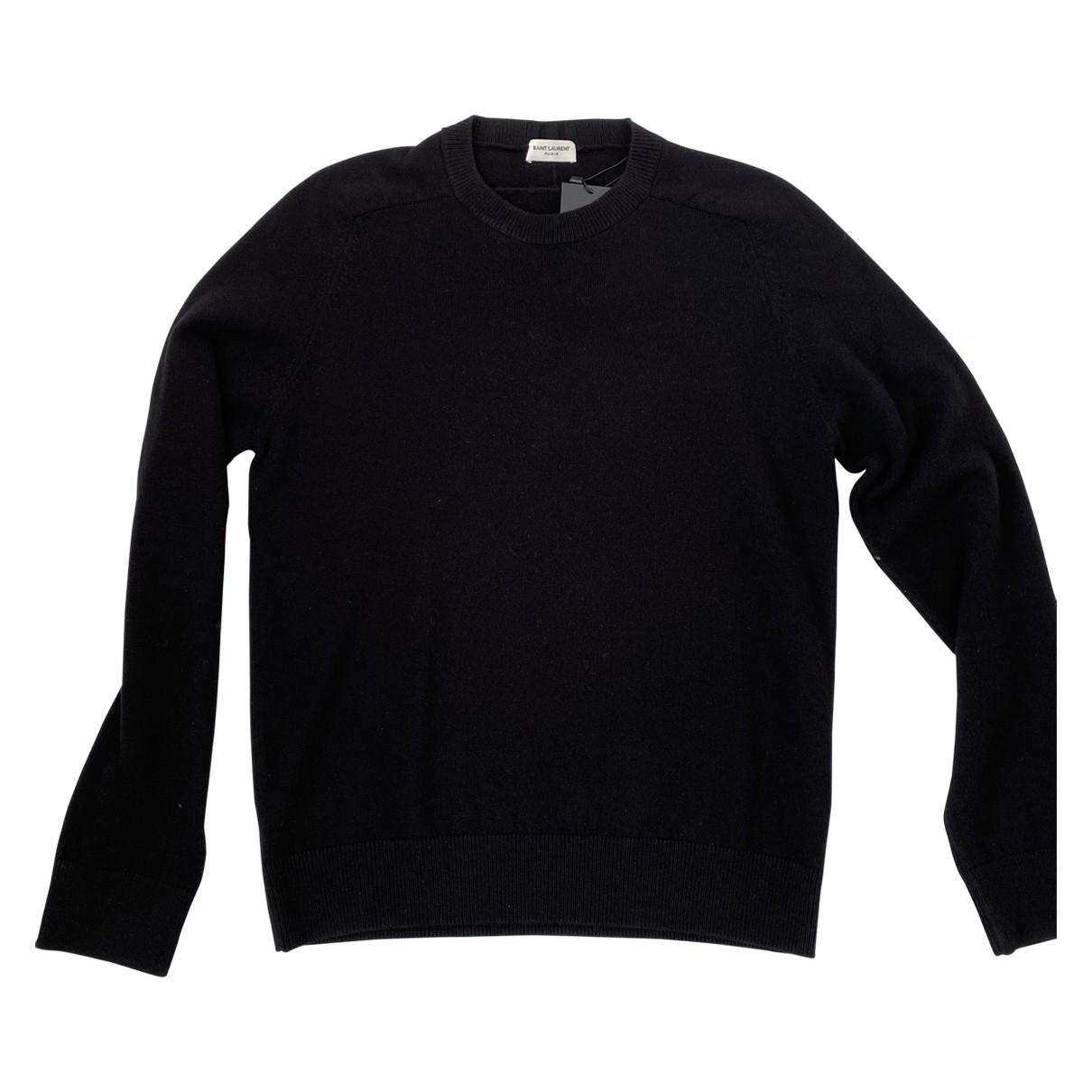 Saint Laurent \N Black Cashmere Knitwear & Sweatshirts for Men L International