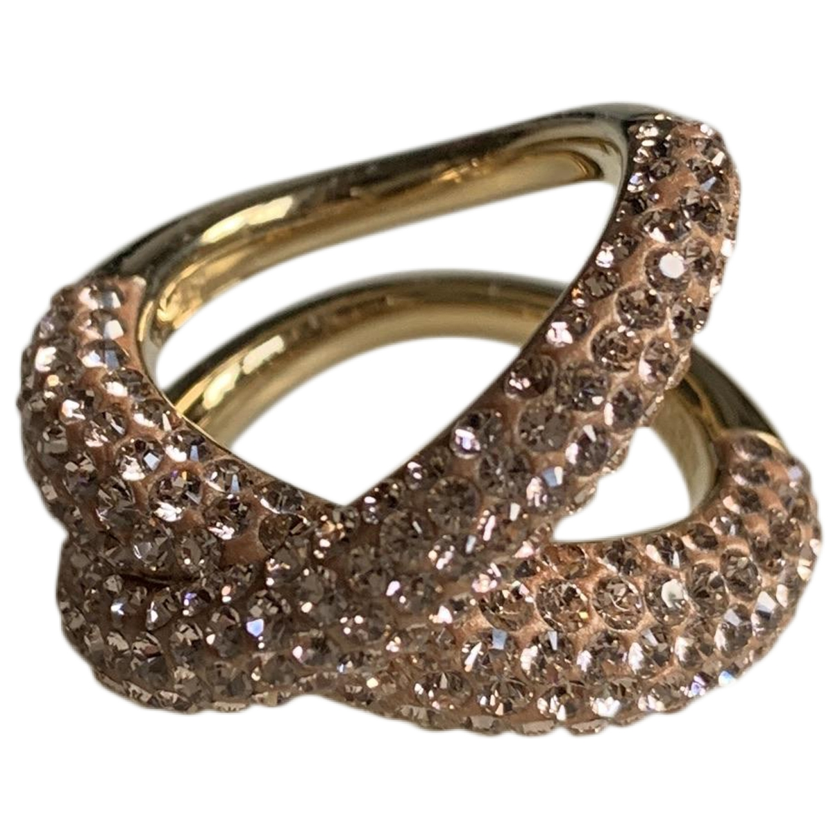 Swarovski Atelier \N Ring in  Gold Kristall