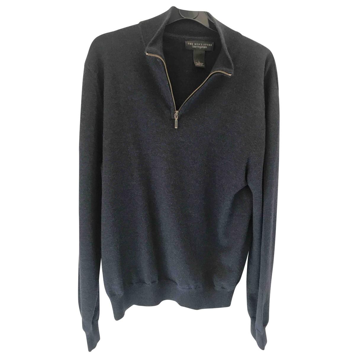 Bloomingdales \N Pullover.Westen.Sweatshirts  in  Blau Wolle