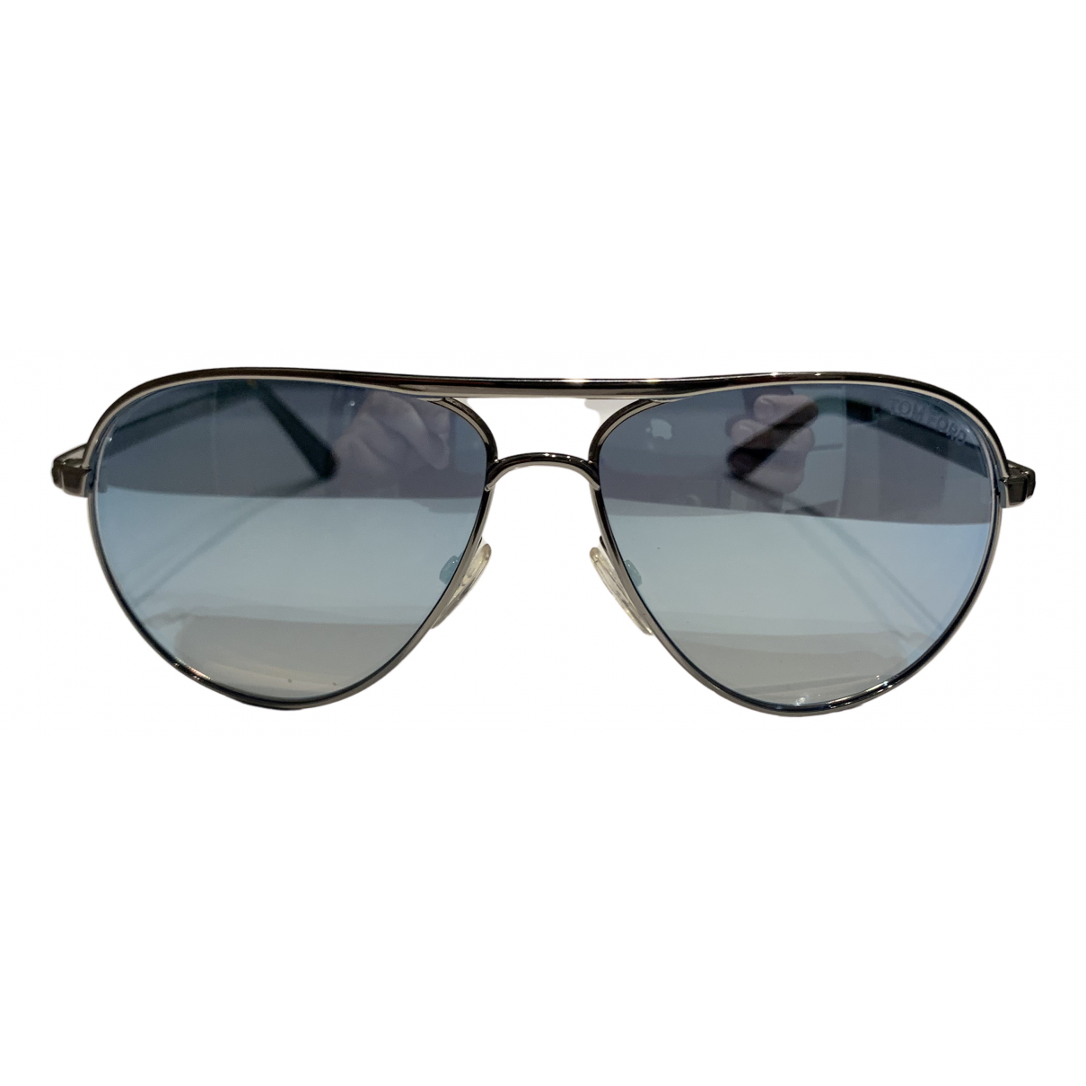 Tom Ford \N Sonnenbrillen in  Silber Metall