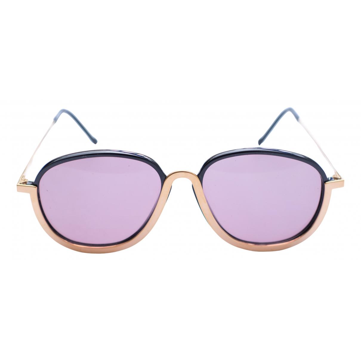 Christian Lacroix \N Purple Metal Sunglasses for Women \N