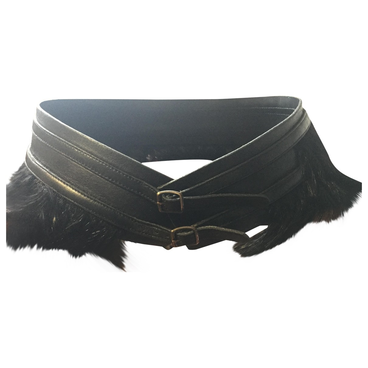 Plein Sud \N Black belt for Women 80 cm