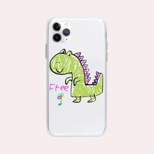 Cartoon Dinosaur Print iPhone Case