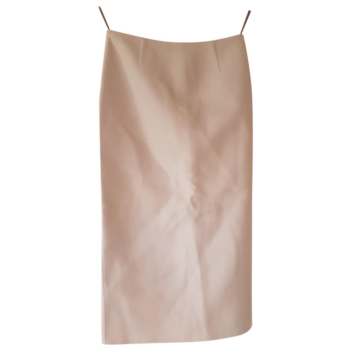 Celine \N Grey Wool skirt for Women 38 FR