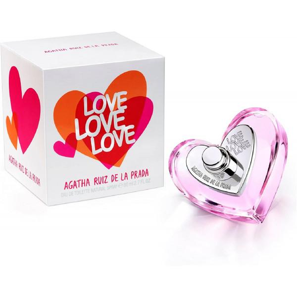 Agatha Ruiz De La Prada - Love Love Love : Eau de Toilette Spray 2.7 Oz / 80 ml