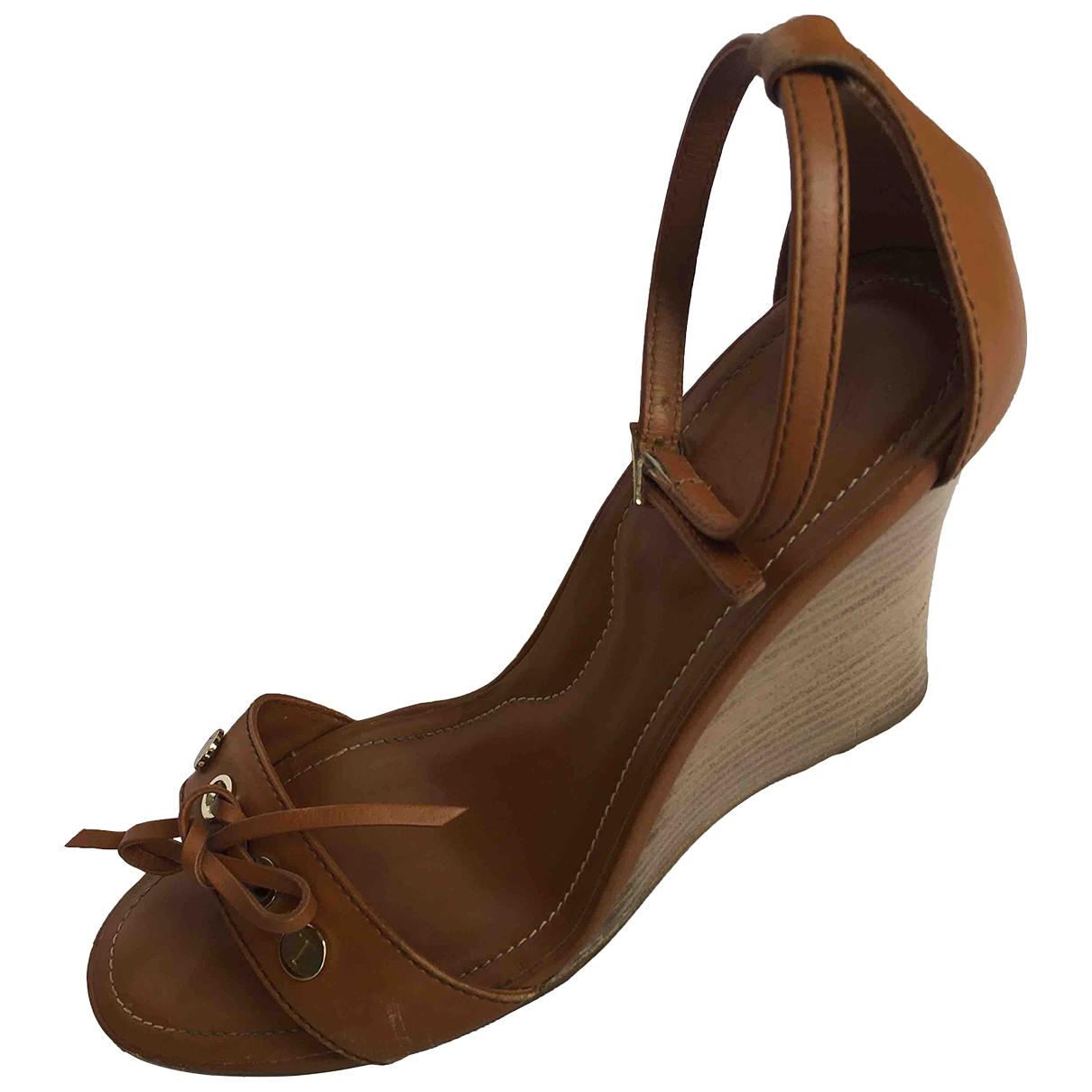 Sandalias de Cuero Tod's