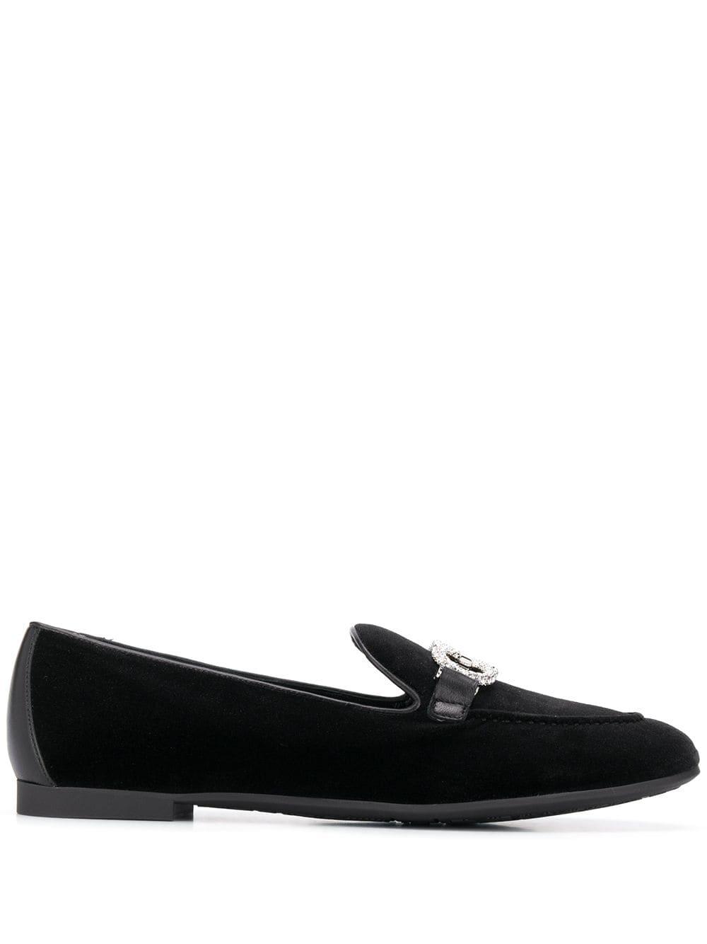 Trifoglio* Velvet Loafers