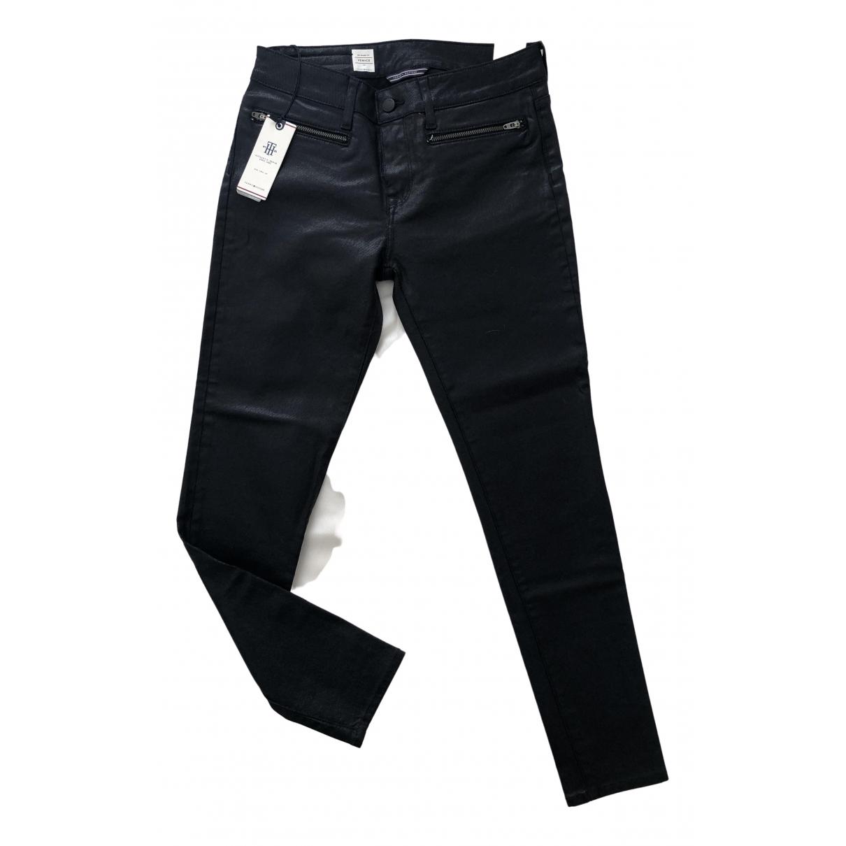 Tommy Hilfiger - Jean   pour femme en coton - elasthane - noir