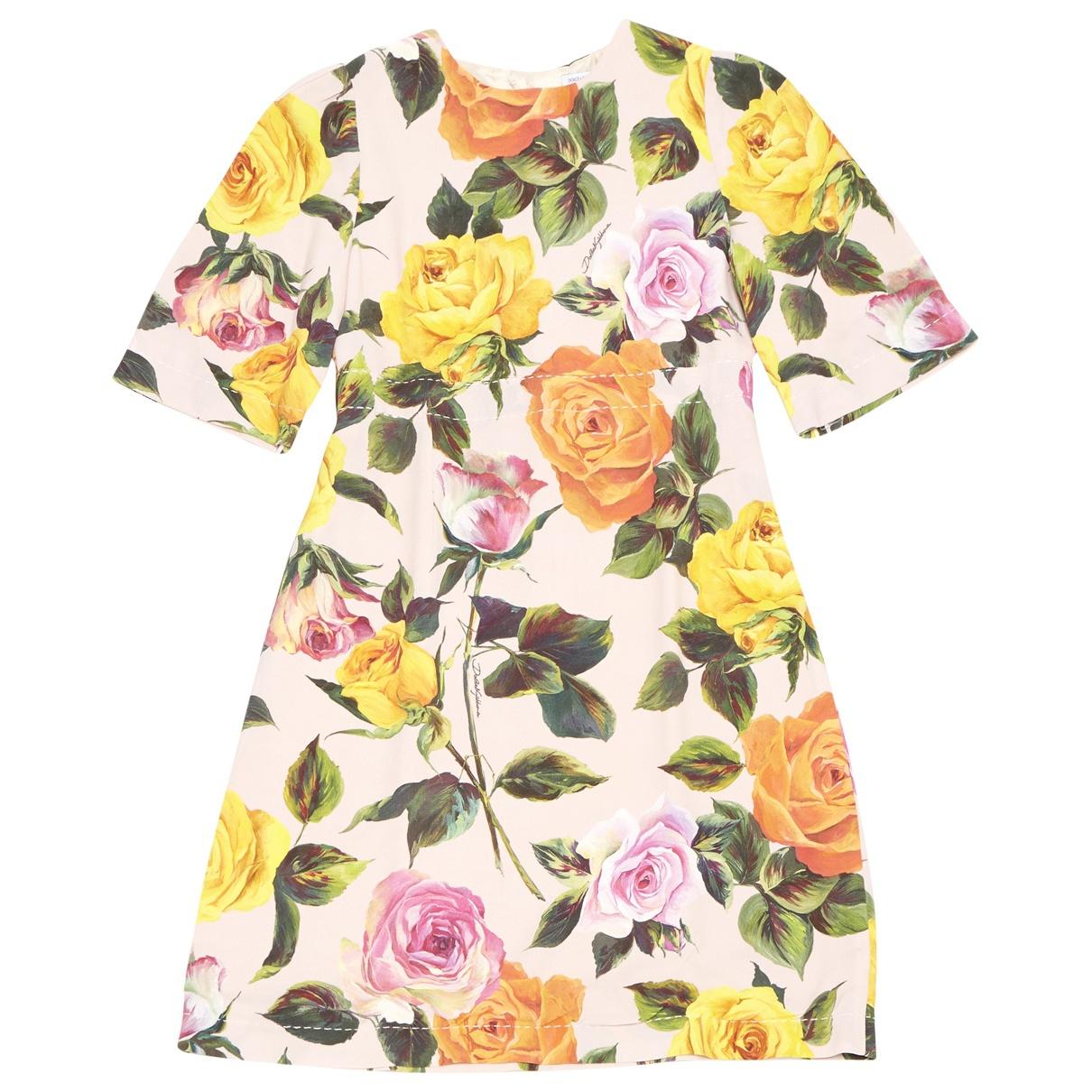 Dolce & Gabbana \N Kleid in  Rosa Viskose