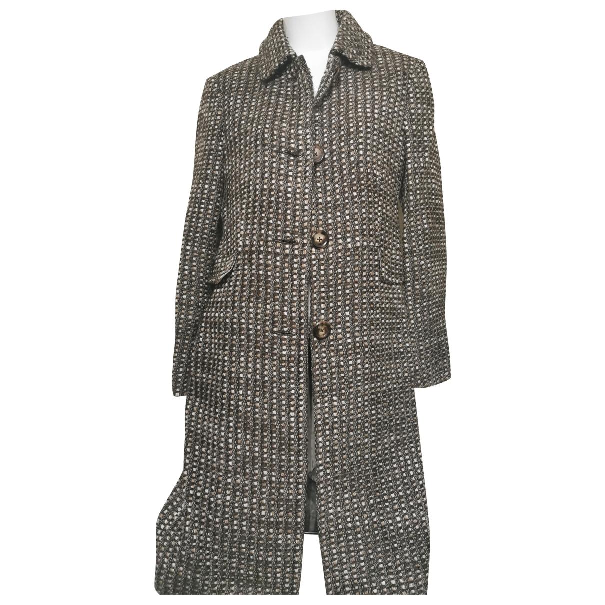 Bogner \N Brown Wool coat for Women 6 US