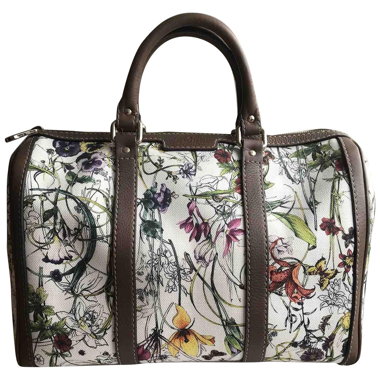 Gucci Boston Multicolour Cotton handbag for Women \N