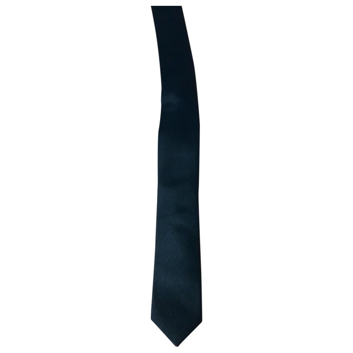Dolce & Gabbana \N Black Silk Ties for Men \N