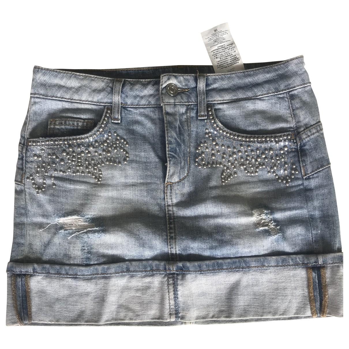Liu.jo \N Blue Denim - Jeans skirt for Women S International