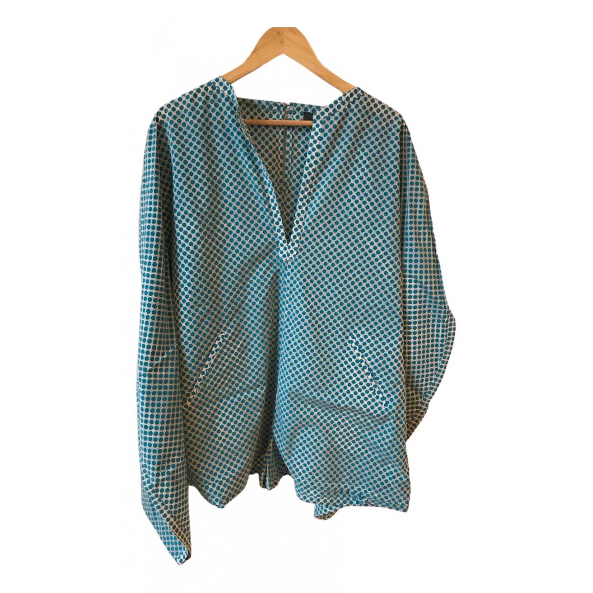 Fendi - Combinaison   pour femme en soie - bleu