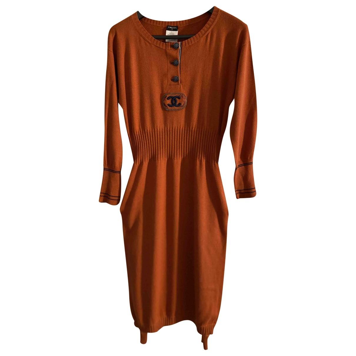 Vestido midi de Cachemira Chanel