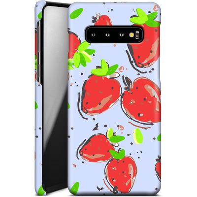 Samsung Galaxy S10 Smartphone Huelle - Strawberry Crush von Mukta Lata Barua