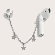 1pc Star Charm Bluetooth Headset Anti-lost Earring