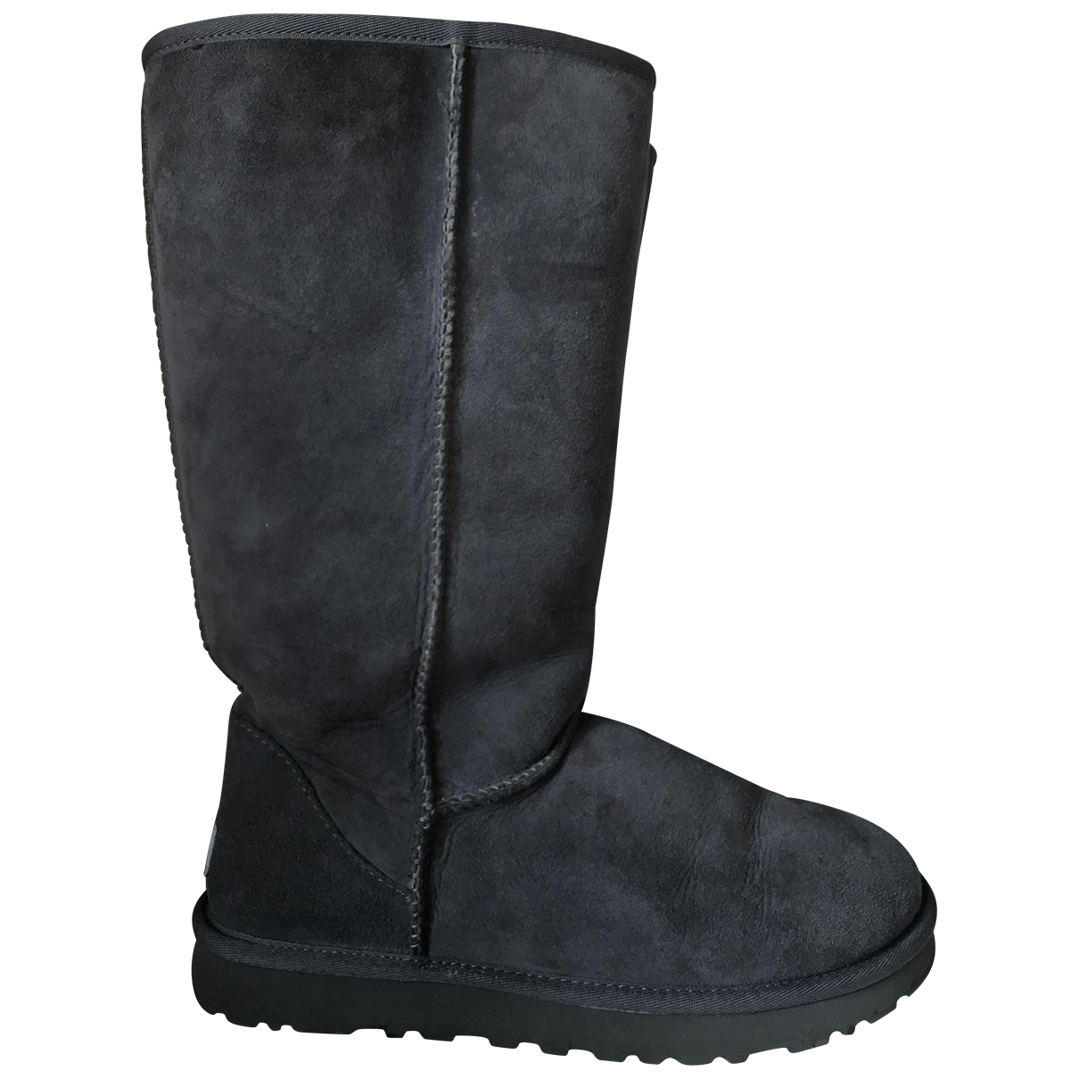 Ugg \N Grey Suede Boots for Women 9 US