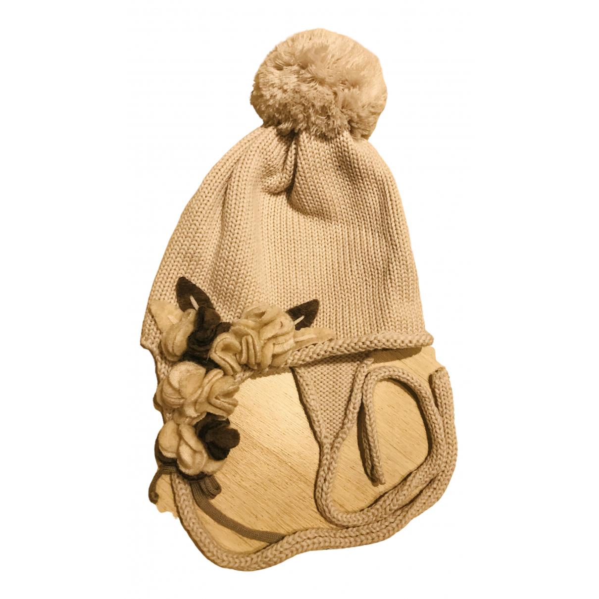 Catya - Chapeaux.Bonnets.Gants   pour enfant en laine - beige