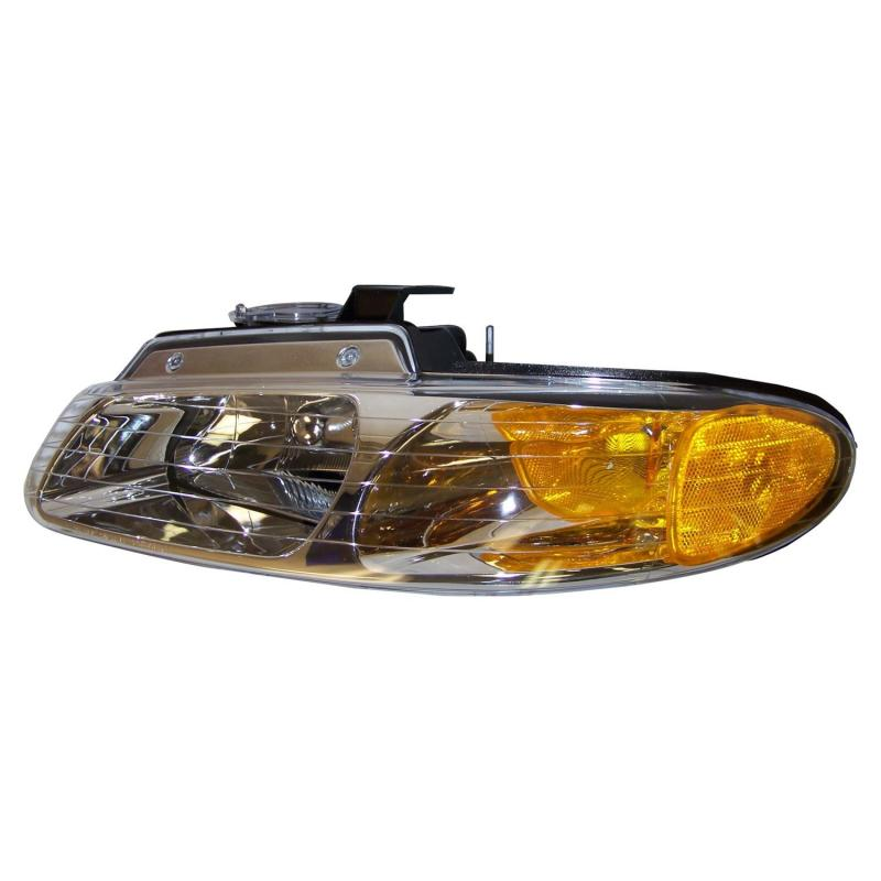 Crown Automotive 4857041 Jeep Replacement Left Headlight Assembly for Select 96-99 NS Dodge, Chrysler & Plymouth Minivans Left