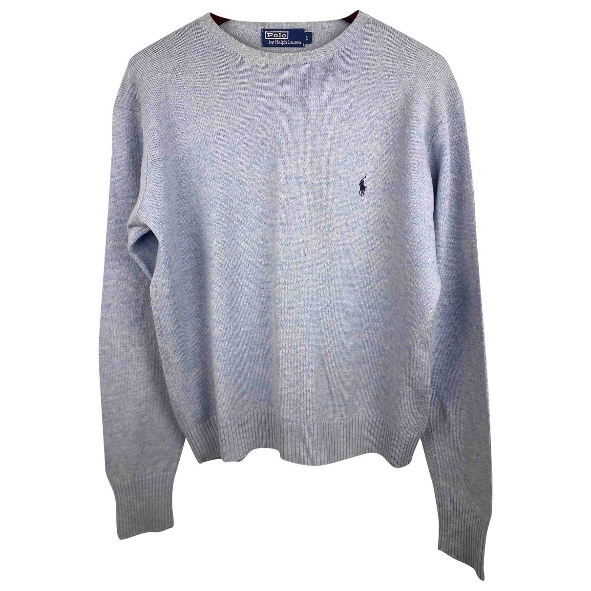 Polo Ralph Lauren \N Blue Wool Knitwear & Sweatshirts for Men L International