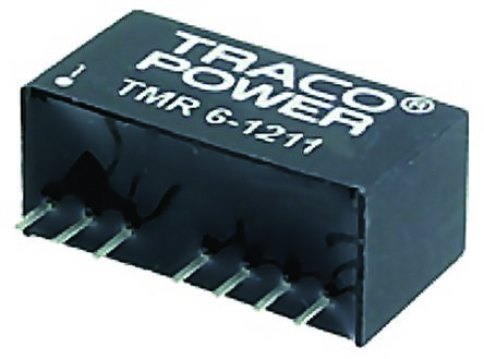 TRACOPOWER TMR 6 6W Isolated DC-DC Converter Through Hole, Voltage in 9 → 18 V dc, Voltage out 5V dc