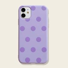1pc Polka Dot iPhone Case