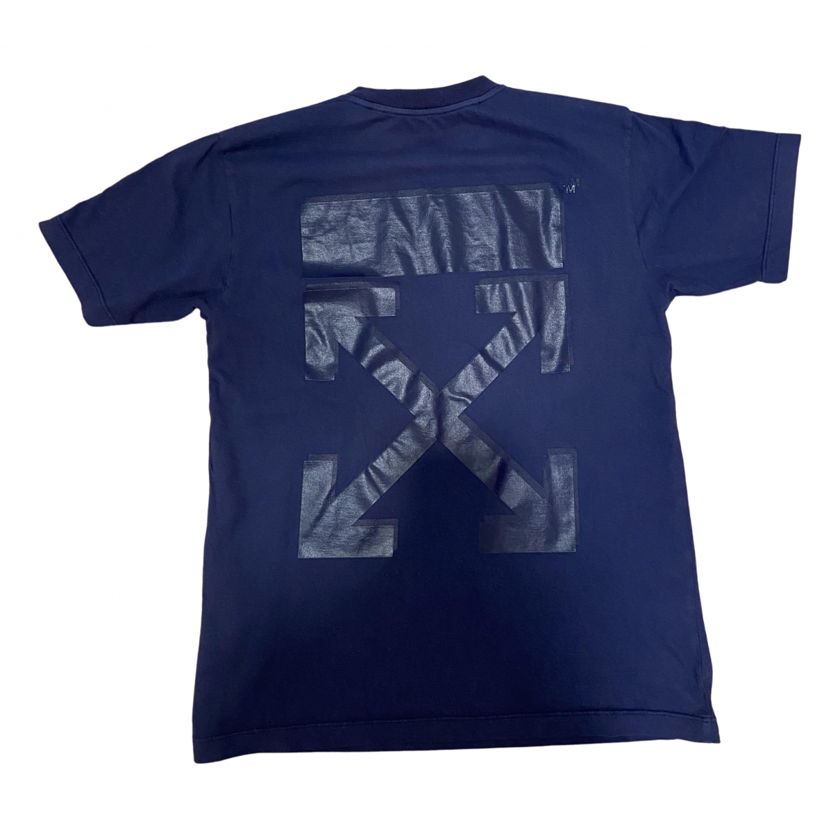 Off-white N Navy Cotton  top for Women S International