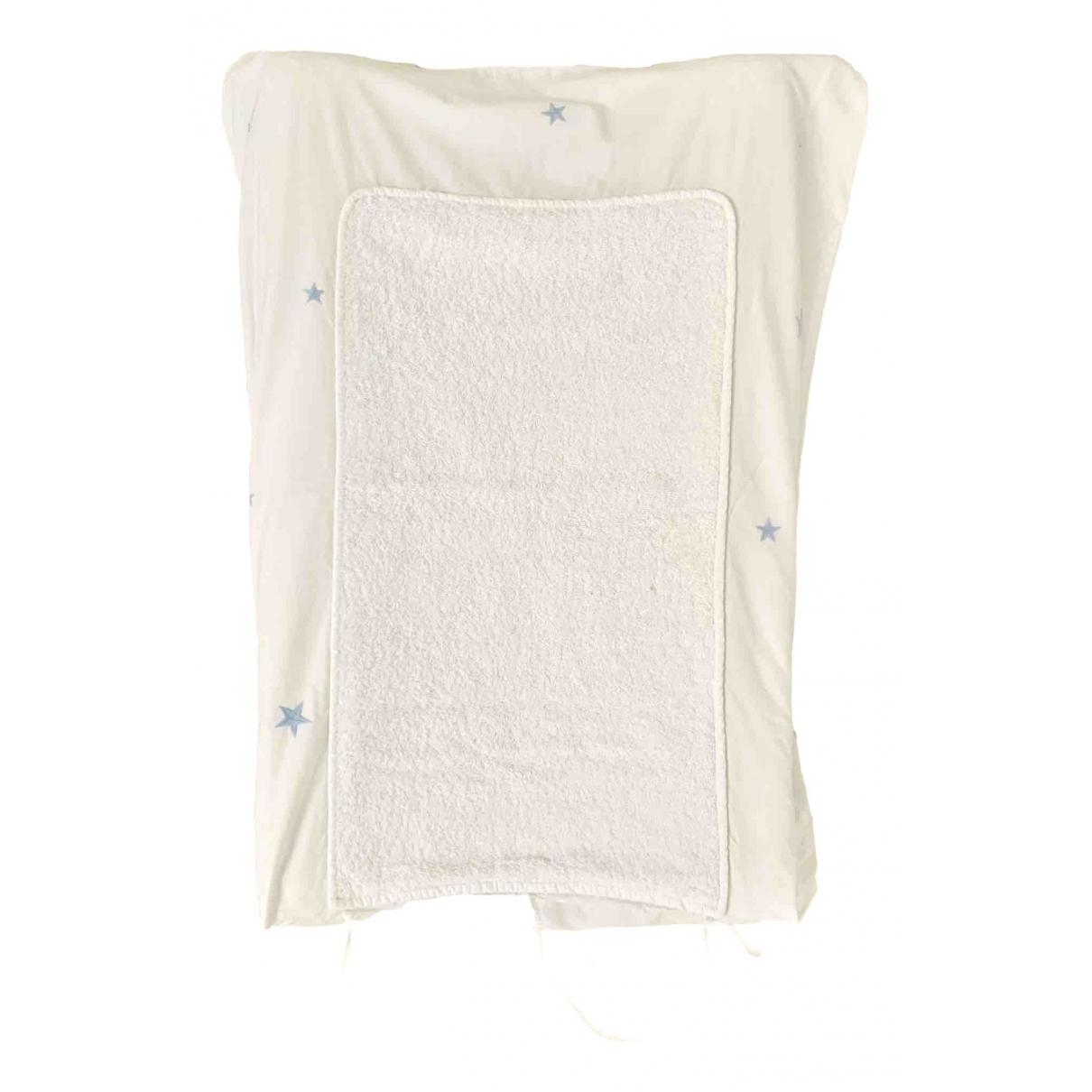 Baudou - Sac   pour enfant en coton - blanc
