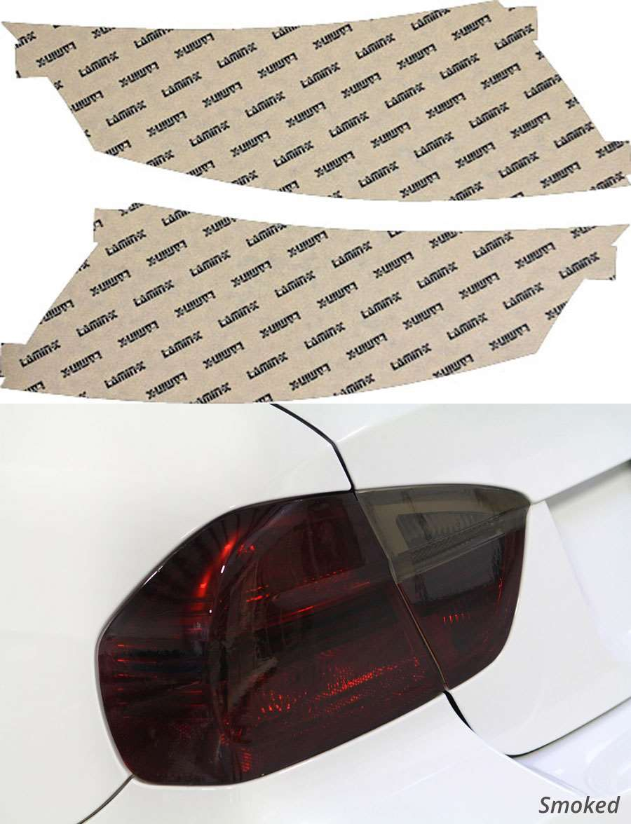Audi TT 08-15 Smoked Tail Light Covers Lamin-X A212S