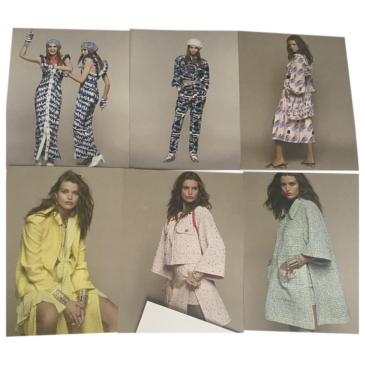 Chanel - Mode   pour lifestyle en coton - anthracite
