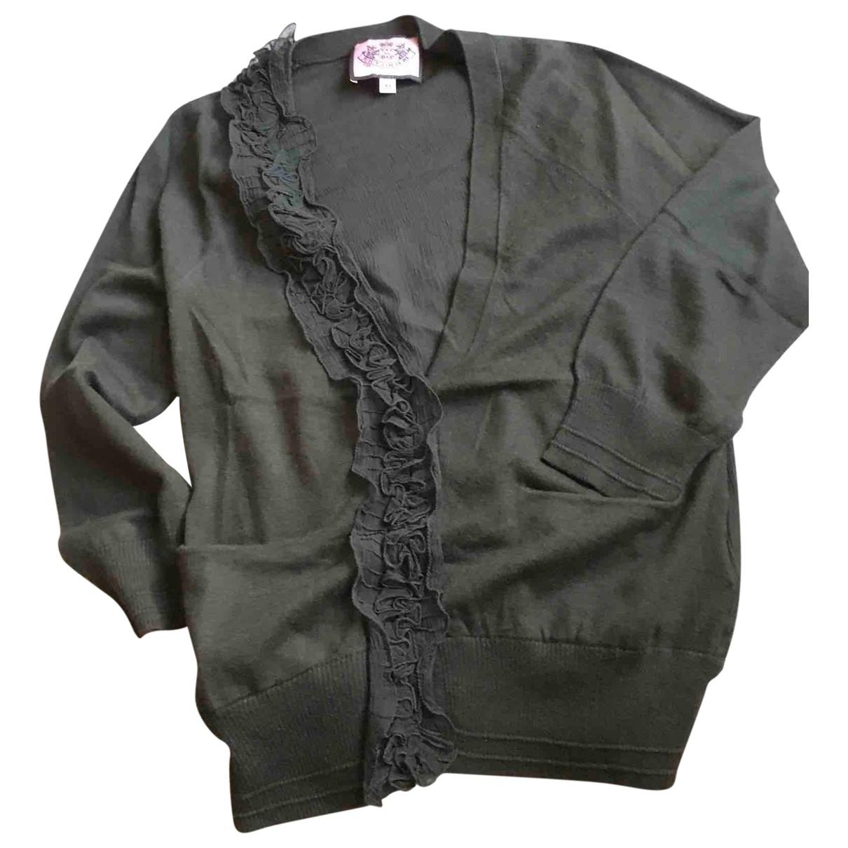Juicy Couture - Pull   pour femme en coton - kaki