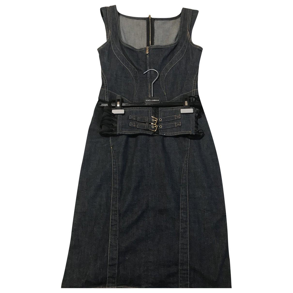 Dolce & Gabbana \N Denim - Jeans dress for Women 42 IT