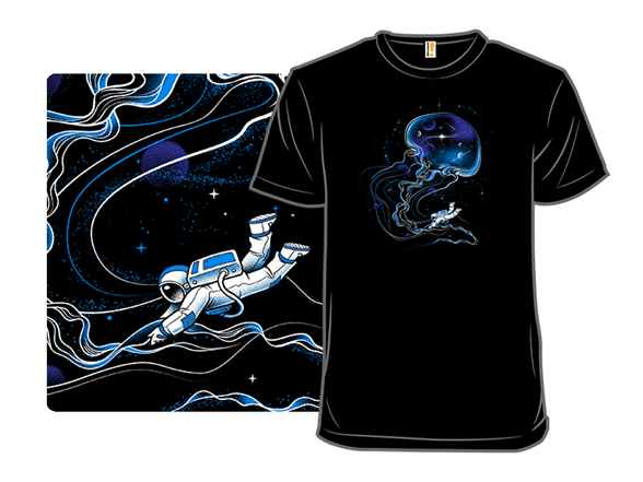 Universe Is A Big Jellyfish T Shirt