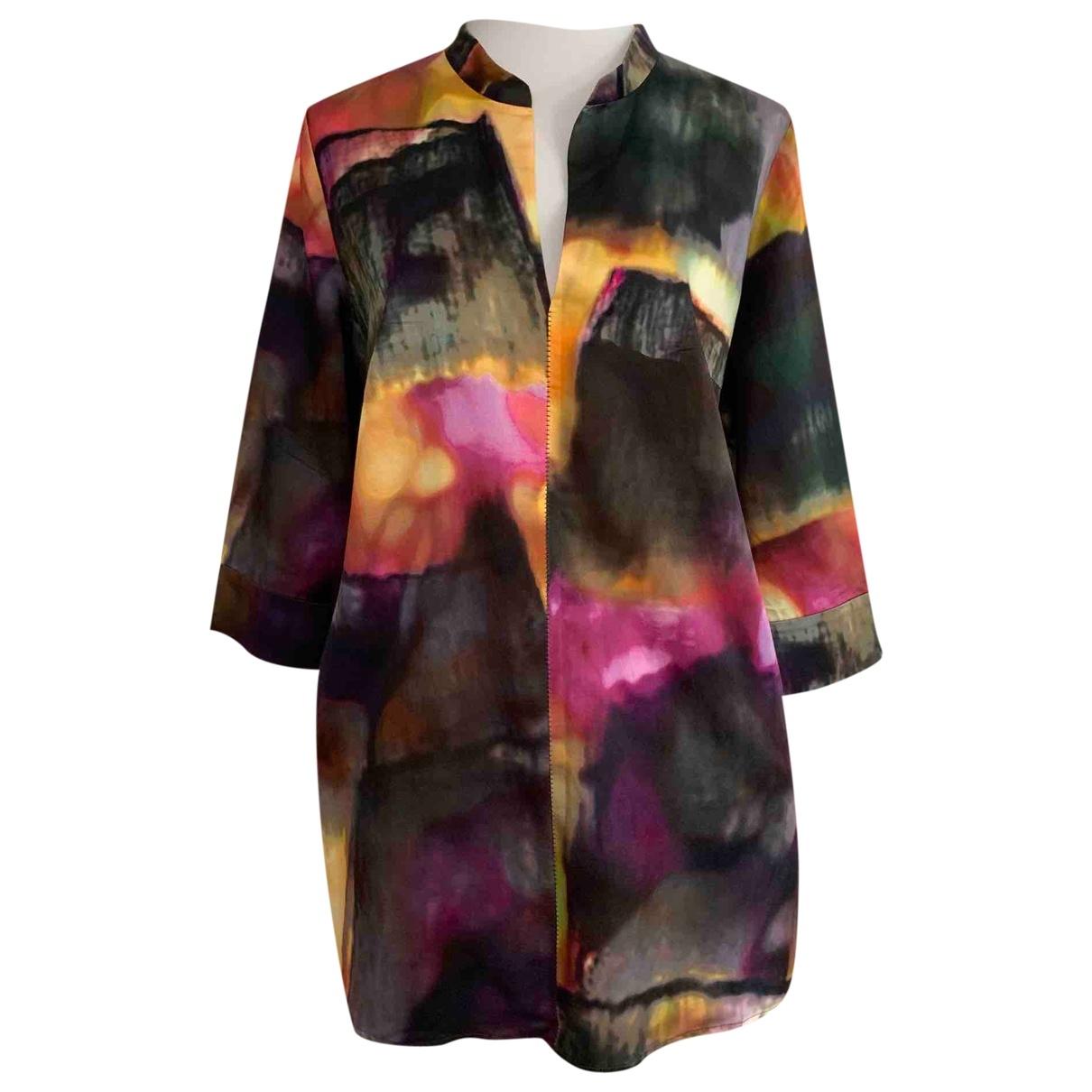 Escada \N Multicolour Silk dress for Women 38 IT